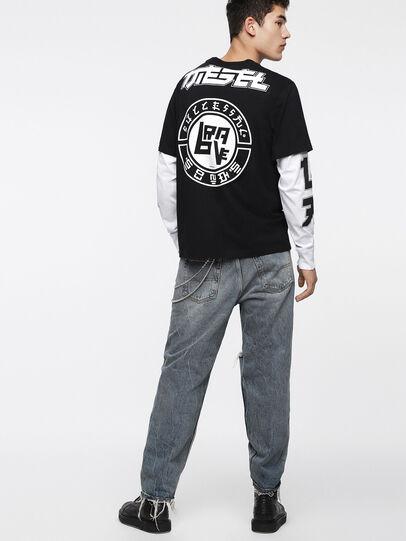 Diesel - T-SOUND, Schwarz - T-Shirts - Image 4