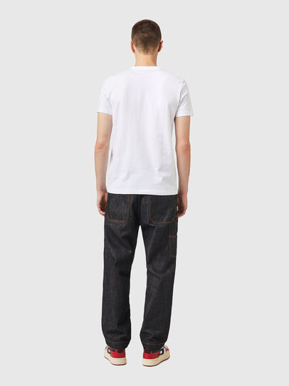 Diesel - T-DIEGOS-K26, Weiss/Rot - T-Shirts - Image 5