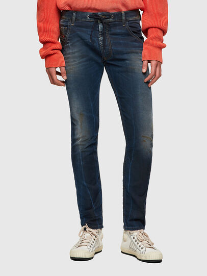 Diesel - Krooley JoggJeans® 069WR, Dunkelblau - Jeans - Image 1