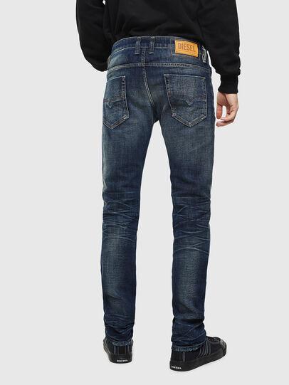 Diesel - Safado 0096U, Dunkelblau - Jeans - Image 2