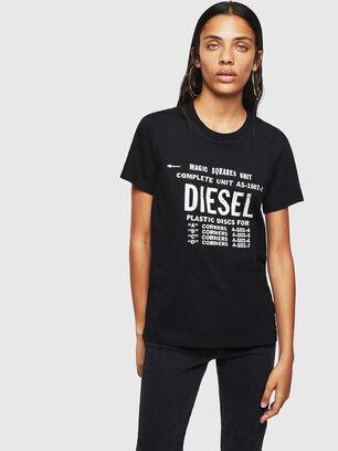 T-SILY-ZF, Schwarz - T-Shirts