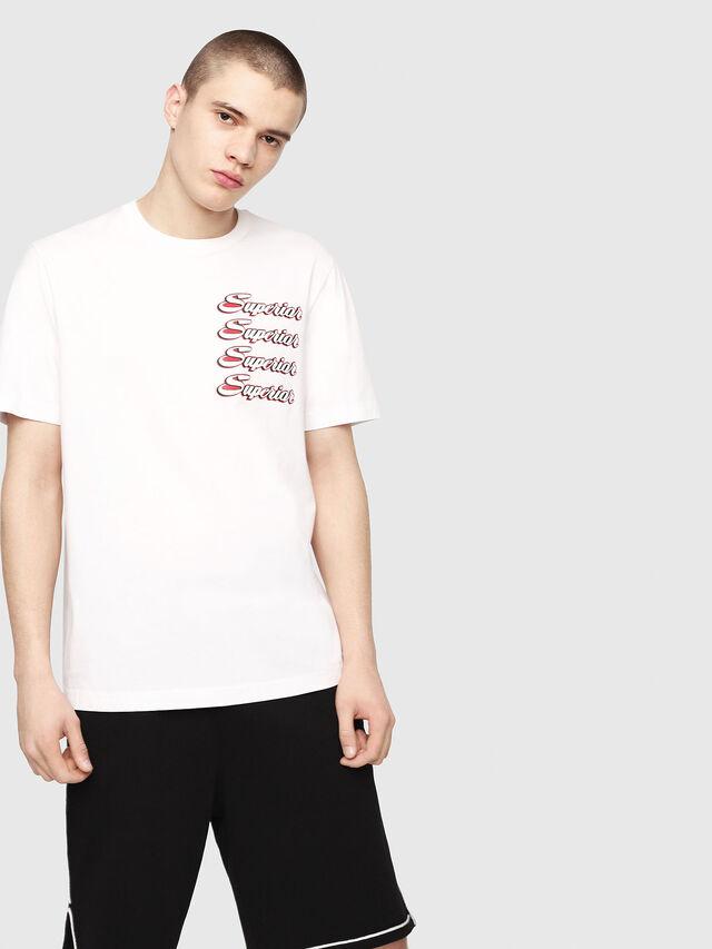 Diesel - T-JUST-Y13, Weiß - T-Shirts - Image 1