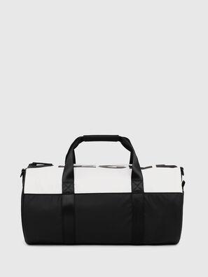 BOLD DUFFLE, Weiß/Schwarz - Taschen