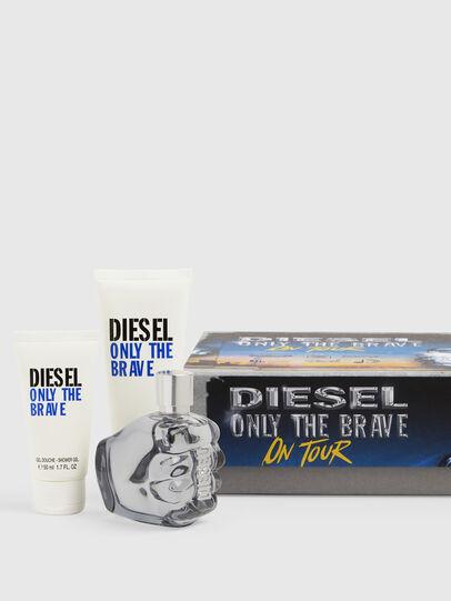 Diesel - ONLY THE BRAVE 75 ML GIFT SET, Azurblau - Only The Brave - Image 1