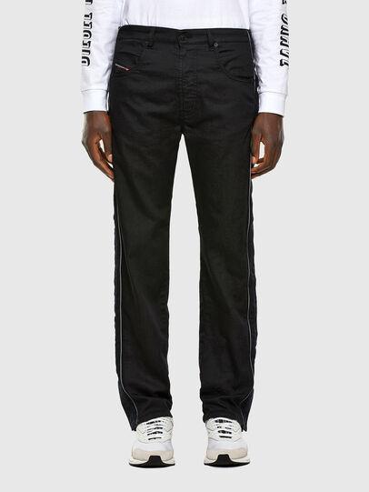 Diesel - Krooley JoggJeans 0KAYO, Schwarz/Dunkelgrau - Jeans - Image 1