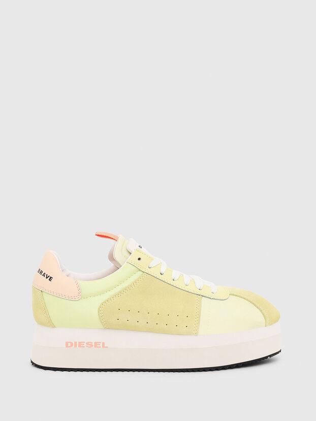 S-PYAVE WEDGE, Gelb - Sneakers