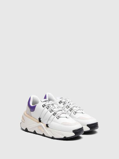 Diesel - S-HERBY TREK EVO, Weiss/Violett - Sneakers - Image 2