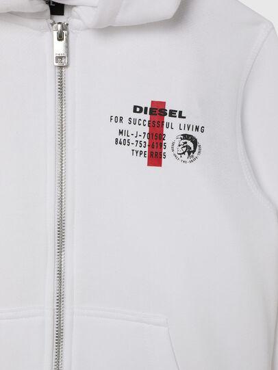 Diesel - UMLT-SBRANDONZ, Weiß - Sweatshirts - Image 3