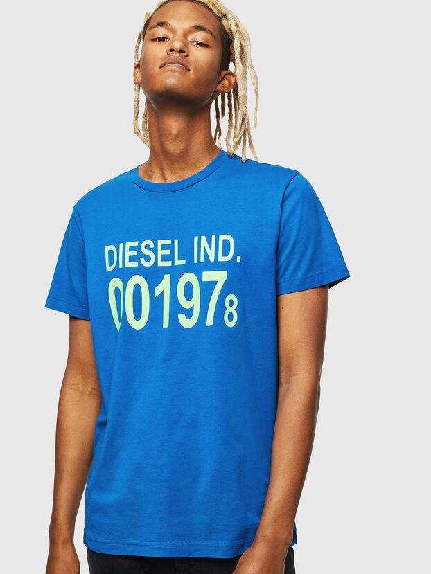T-DIEGO-001978, Brillantblau - T-Shirts