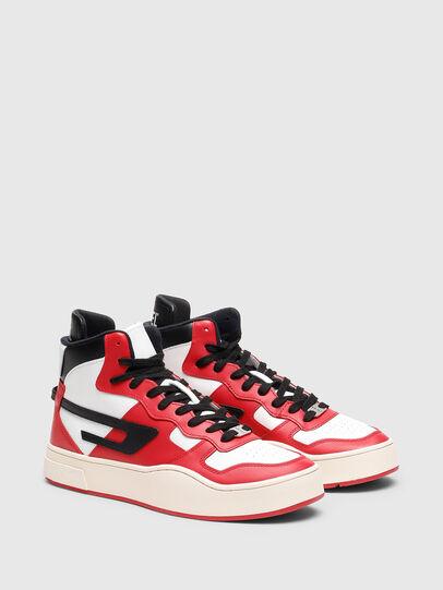Diesel - S-UKIYO MID, Rot/Weiss - Sneakers - Image 2