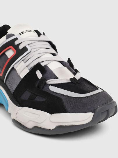 Diesel - S-KIPPER LOW TREK II, Grau/Weiß - Sneakers - Image 5