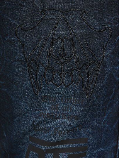 Diesel - D-Reeft JoggJeans 069RB, Dunkelblau - Jeans - Image 4