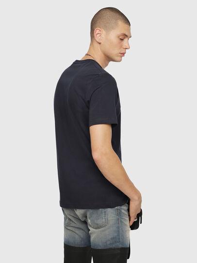 Diesel - T-JUST-DIVISION, Dunkelblau - T-Shirts - Image 2