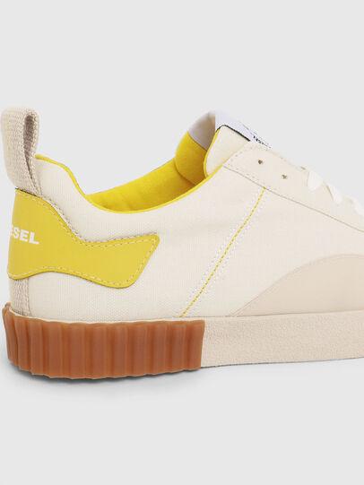 Diesel - S-BULLY LC W, Weiß/Gelb - Sneakers - Image 4