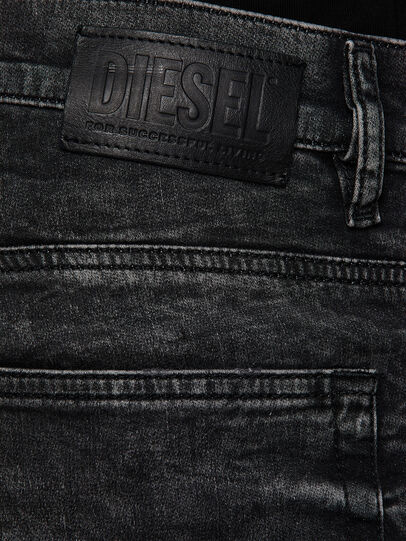 Diesel - D-Reeft JoggJeans 009FZ, Schwarz/Dunkelgrau - Jeans - Image 4