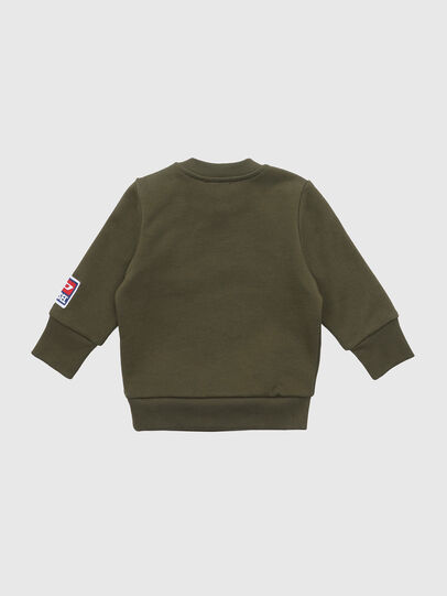 Diesel - SCREWDIVISIONB-D, Armeegrün - Sweatshirts - Image 2