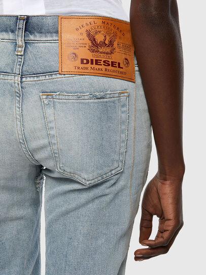 Diesel - D-Ebbey 09A04, Hellblau - Jeans - Image 3