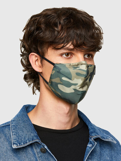 Diesel - FACEMASK-CMF-A, Armeegrün - Weitere Accessoires - Image 2