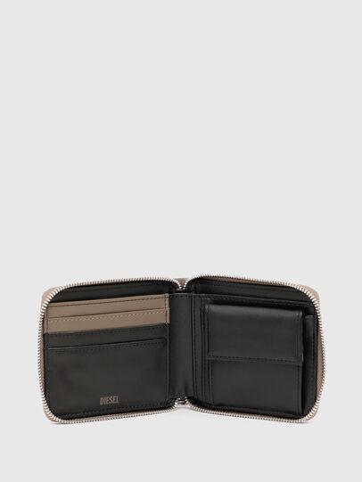 Diesel - HIRESH XS ZIPPI, Beige - Portemonnaies Zip-Around - Image 3