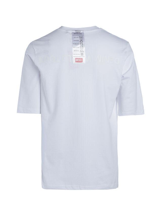 Diesel - SOTO01, Weiß - T-Shirts - Image 3