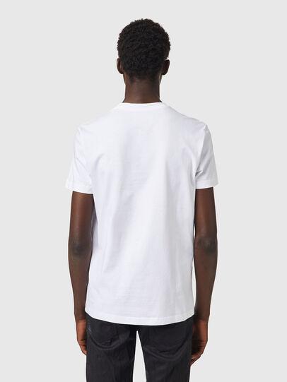 Diesel - T-DIEGOS-B82, Weiß - T-Shirts - Image 2