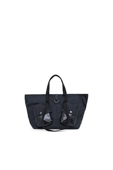Shopping-Tasche aus Ripstop mit beschichteten Taschen