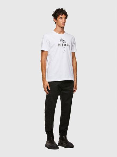 Diesel - T-DIEGOS-N30, Weiß - T-Shirts - Image 4