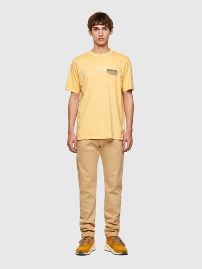 Diesel - T-JUBINDY-B1, Gelb - T-Shirts - Image 4