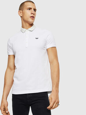 T-MILES-NEW, Weiß - Polohemden