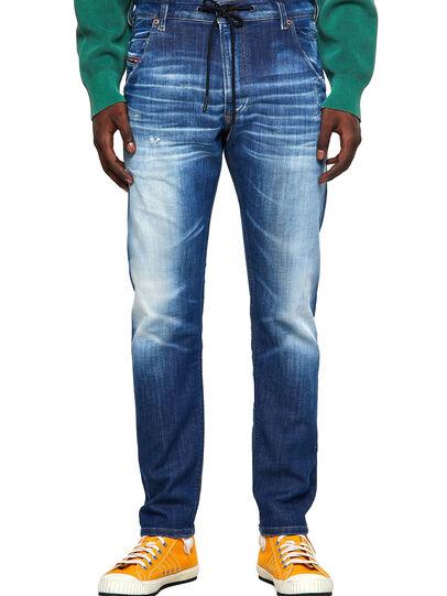 Diesel - Krooley JoggJeans® 09B52, Mittelblau - Jeans - Image 1