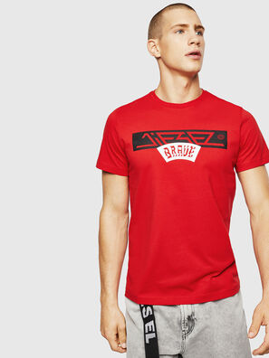 T-DIEGO-A1, Feuerrot - T-Shirts