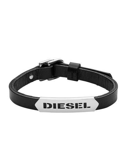 Diesel - BRACELET DX0999, Schwarz - Armbänder - Image 1