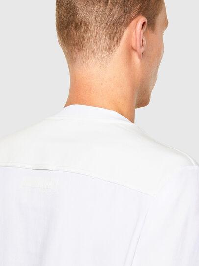 Diesel - T-TASK-LS, Weiß - T-Shirts - Image 4