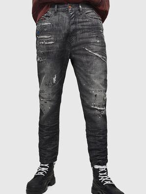 D-Vider 083AB, Schwarz/Dunkelgrau - Jeans