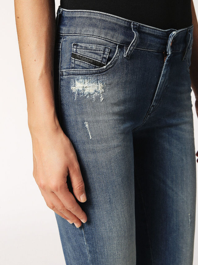 SLANDY 084MU, Jeansblau