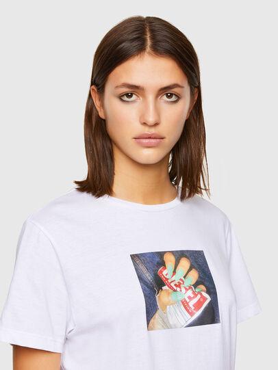 Diesel - T-DARIA-R3, Weiß - T-Shirts - Image 3