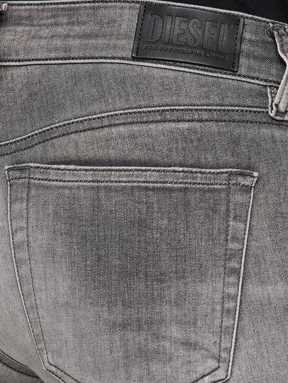 Diesel - Slandy Low 009FD, Hellgrau - Jeans - Image 4