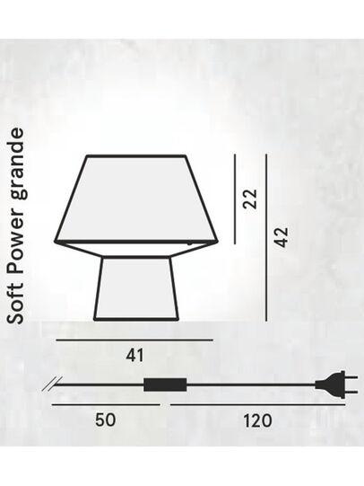Diesel - SOFT POWER GRANDE,  - Tischlampen - Image 2