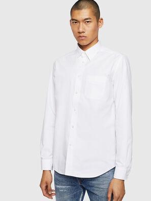S-MOI-R-BW, Weiß - Hemden