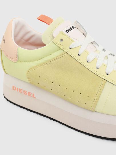 Diesel - S-PYAVE WEDGE, Gelb - Sneakers - Image 4