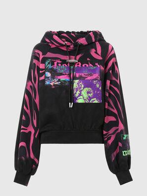 F-BIORG, Schwarz/Rosa - Sweatshirts