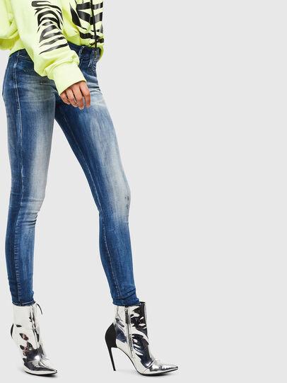 Diesel - Slandy 0095C, Mittelblau - Jeans - Image 4