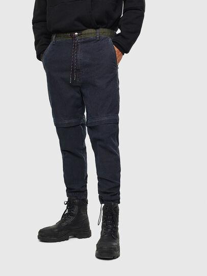 Diesel - D-Everi JoggJeans 009BI, Dunkelblau - Jeans - Image 1