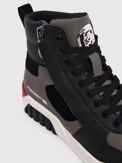 Diesel - S-RUA MID SK, Grau - Sneakers - Image 4