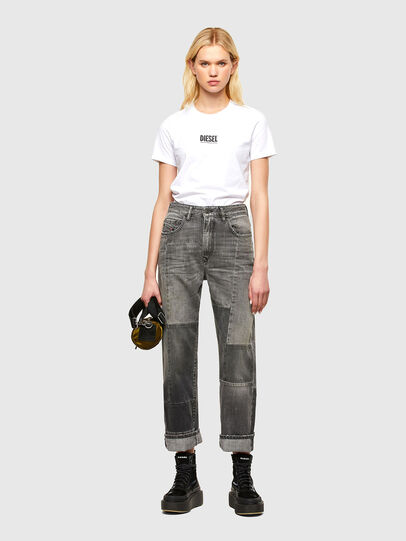 Diesel - T-SILY-SMALLOGO, Weiß - T-Shirts - Image 4