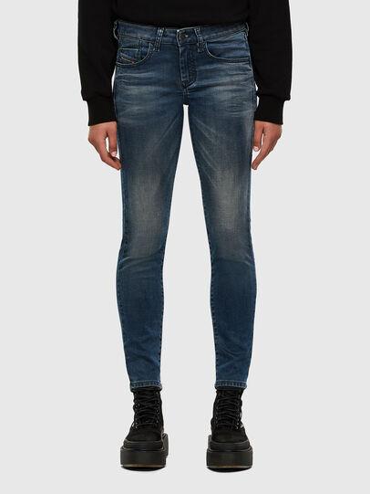 Diesel - D-Ollies JoggJeans 069NM, Mittelblau - Jeans - Image 1