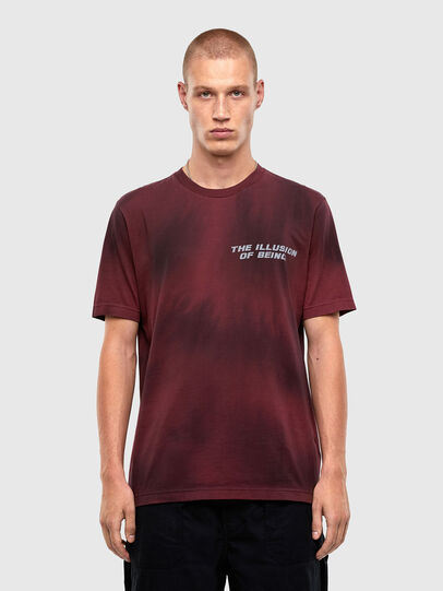 Diesel - T-JUST-N47, Braun - T-Shirts - Image 1