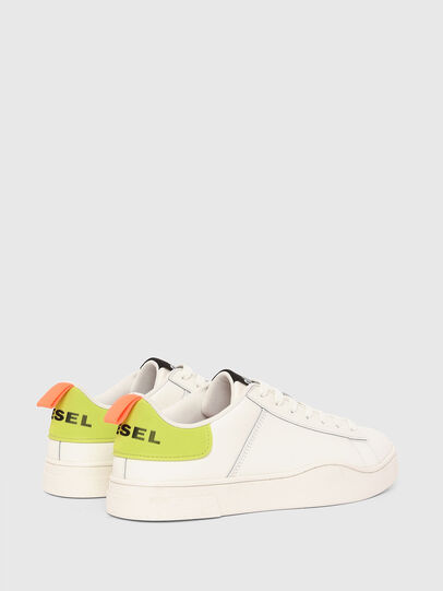Diesel - S-CLEVER LOW LACE, Weiss/Gelb - Sneakers - Image 3