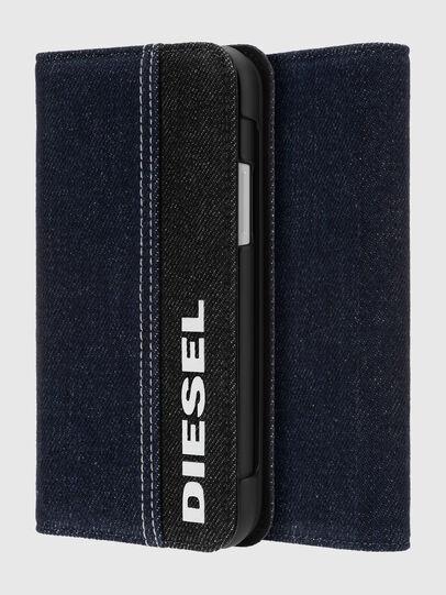 Diesel - DIPH-037-DENVL, Jeansblau - Klappcover - Image 1