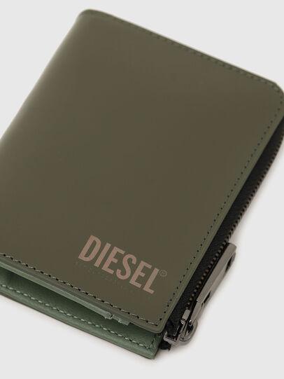 Diesel - L-12 ZIP, Olivgrün - Portemonnaies Zip-Around - Image 5
